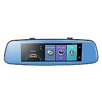 Camera Hành Trình Gương 4G GPS Tích Hợp Camera Sau E06