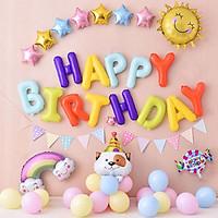 Set bóng chó cún con trang trí sinh nhật tuổi tuất