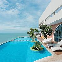 CAO Hotel Vũng Tàu 4* - Ưu đãi mùa hè 2N1D. Trải nghiệm hồ bơi vô cực. Bao gồm ăn sáng, vé xe ghép limousine khứ hồi từ Sài Gòn
