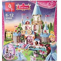 Xếp Hình Lắp Ráp Friends Mô Hình Lâu Đài Tráng Lệ Của Công Chúa Cinderella 697 Khối - Đồ Chơi Trẻ Em