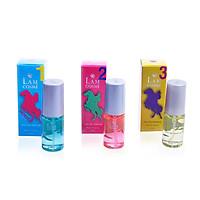 Bộ 3 chai nước hoa nữ Lamcosmé Horse, Kiểu Ralph hương nữ trẻ và cá tính (22ml / Chai)