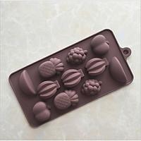Khuôn silicon dẻo 3D, 4D đổ Socola, Thạch, Đá, Kẹochipchip, Pudding tạo hình cute