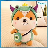 Gấu bông chó Shiba cosplay 25cm cao cấp - Hàng chính hãng Memon - Đồ chơi thú nhồi bông chó Shiba cosplay, Kích thước 25cm, Bông gòn mềm mịn, bền đẹp, dễ sử dụng và an toàn cho trẻ nhỏ.
