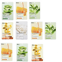 Mix 10 mặt nạ thảo dược Benew Hàn quốc hương ngẫu nhiên (22ml/gói) và nơ