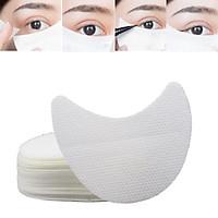 100Pcs Set Eyelash Pad Under Eye Stickers Makeup Eye Shadow Eyeliner Shields Patches