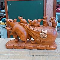 Chuột gỗ hương 30cm