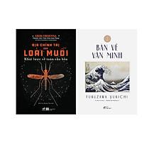 Combo 2 Cuốn Địa Chính Trị Của Loài Muỗi - Khái Lược Về Toàn Cầu Hóa  + Bàn Về Văn Minh