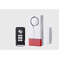 Bộ thiết bị báo động thông minh bảo vệ nhà cửa cao cấp có ĐKTX 18R ( Cảm biến má từ tránh trùng lặp -Tặng đèn led mini cắm cổng USB ngẫu nhiên )