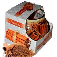 Ly nến thơm tinh dầu Admit Cinnamon 85g QT04539 - hương quế