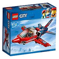 Phi Cơ Biểu Diễn Trên Không LEGO City 60177 (87 Chi Tiết)