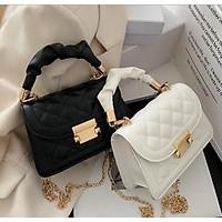 Túi đeo chéo nữ mini trần trám xinh xắn giá rẻ BAG U MN105