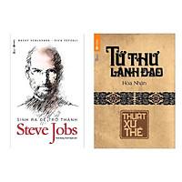 Combo Sách Dành Cho Người Lãnh Đạo : Tứ Thư Lãnh Đạo - Thuật Xử Thế + Sinh Ra Để Trở Thành Steve Jobs ( Sách Hay / Sách Lãnh Đạo /Sách Bán Chạy Nhất Tuần / Tặng Kèm Postcard Greenlife )