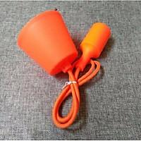 Bộ 3 dây đèn thả trang trí nhiều màu đui E27 hàng chính hãng.