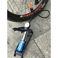 Bơm lốp xe đạp xe máy 1 ống chính hãng C-MART