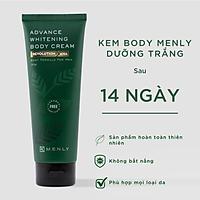 Kem dưỡng trắng cơ thể body Menly (250g)