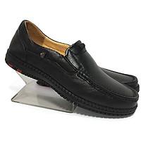 Giày tây nam da bò thật cao cấp, đường may tỉ mỉ đế cao su ép nhiệt chắc chắn có rãnh chống trượt-HS032