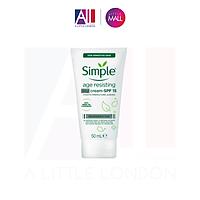 Kem chống lão hoá ngày Simple Age Resisting Day Cream SPF 15 - 50ml (Bill Anh)