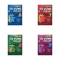 Combo Bài tập bổ trợ toàn diện từ vựng Tiếng Anh cơ bản và nâng cao lớp 6,7,8,9
