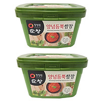 Combo 2 Hộp Tương Đậu Chấm Thịt Nướng, Thịt Luộc, Hải Sản,...500g - Nhập Khẩu Hàn Quốc