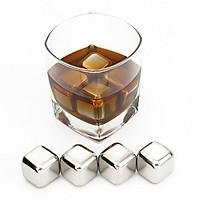 Đá Sunzin bằng inox 304 Đá Lạnh không tan -tránh nhạt rượu cách dùng gần giống đá khô