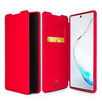 Bao da SamSung Galaxy Note 10 Plus DUX DUCIS Skin Xkhung mềm siêu chống sốc - Hàng Chính Hãng