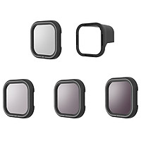 TELESIN Camera Filter Sets 4Pack CPL ND8 ND16 ND32 Filters Lens Protector with Magnetic Adapter Camera Lens Accessories