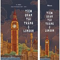 Tiệm Quan Tài Trắng Ở London (Hoa Cho Người Chết - Tập 1) (Tặng Kèm 1 Bookmark)