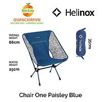 Ghế dã ngoại xếp gọn Helinox Chair One Paisley Blue
