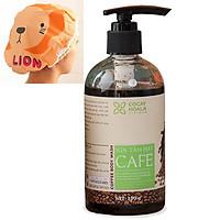 Sữa tắm cafe khử mùi cơ thể COCAYHOALA giúp sáng mịn da, dưỡng ẩm, tẩy tế bào chết 300g, Tặng Mũ Trùm Tóc Ngẫu Nhiên