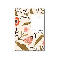 Sổ Tay Kẻ Ngang - Crabit Notebuck - Lá nâu (20.8 x 14.5 cm)