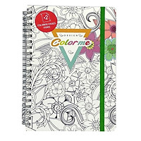 Sổ Tay Coloring Book - Ruy Băng Xanh Lá