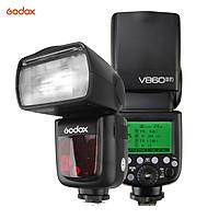 Đèn Flash Không Dây Godox VING V860IIF Tích Hợp Với Bộ Sạc Pin 2000mAh Cho Máy Fuji X-Pro2 X-T20 X-T2 X-T1 X-Pro1 X-T10 X-E2 X-A3 X100F X100T