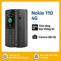 Điện thoại Nokia 110 4G - Hàng chính hãng
