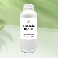 Tinh dầu Bạc Hà Peppermint Kepha 500ml - Nguyên chất, cao cấp nhập khẩu trực tiếp Ấn Độ - Xông phòng, khử khuẩn, đuổi chuột