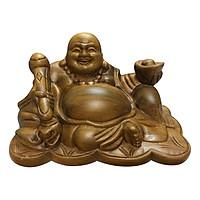 Tượng Phật Di Lặc Gỗ Bách Xanh