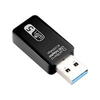 Thiết bị thu sóng Wifi không dây cổng USB 3.0 AC1200 băng thông kép 2.4GHz/ 5.0 GHz Ethernet 802.11AC cho máy tính