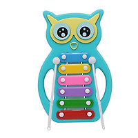 Đồ chơi nhạc cụ- Đàn gõ Xylophone hình cú mèo đáng yêu Toyshouse- Dụng cụ phát triển năng khiếu âm nhạc dành cho bé yêu - tặng đồ chơi xinh xắn