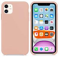 Ốp Silicon cho iPhone 11 - Màu hồng