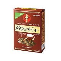 Trà Giảm Mỡ Bụng Meta Shot Tea Orihiro Nội Địa Nhật Bản (60 Gói)