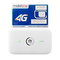 Router wifi 4G Huawei E5573 LTE 150Mbps + Sim 4G Mobifone Khuyến Mãi 60GB /Tháng - Hàng Nhập khẩu