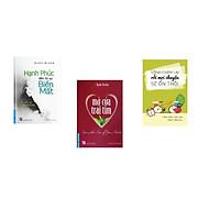 Combo 3 cuốn sách: Hạnh Phúc Đến Từ Sự Biến Mất + Mở Cửa Trái Tim + Sống chậm lại rồi mọi chuyện sẽ ổn
