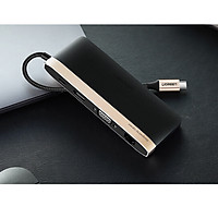 Cáp USB Type C to HDMI, VGA, USB 3.0, Lan, SD/TF, hỗ trợ sạc USB C chính hãng Ugreen 50988
