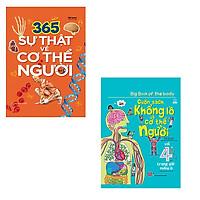 Bộ 2 cuốn sách khổng lồ giúp bé tìm hiểu về cơ thể người: 365 sự thật về cơ thể người - Cuốn sách khổng lồ về cơ thể người