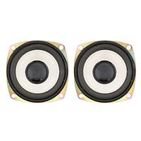 2x 3 inch Speaker Driver Internal Audio Horn for DVD/Multimedia