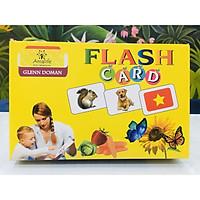Bộ Thẻ Học Thông Minh Flashcard Song Ngữ Cho Bé - Hàng Chính Hãng