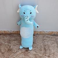 Gối voi con nhồi bông siêu mềm mịn làm gối ôm cho bé size 70cm