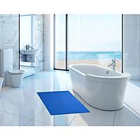 Thảm nhựa lưới chống trơn màu xanh dương cho nhà cửa, nhà tắm, văn phòng, hồ bơi