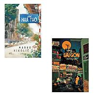 Bộ 2 cuốn tản văn về những thành phố thân thương: Phố Nhà Thờ - Vọng Sài Gòn