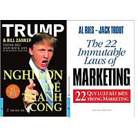 Combo 2 Cuốn Sách: Nghĩ Lớn Để Thành Công + 22 Quy Luật Bất Biến Trong Marketing