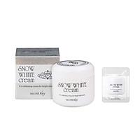 Kem dưỡng trắng da Secret Key Snow White Cream 50g + 1 Sample Kem dưỡng trắng da Secret Key
